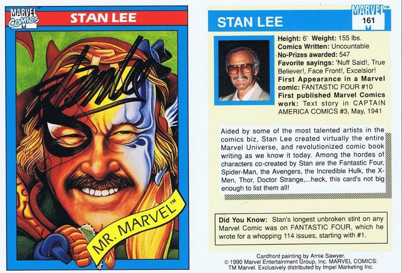 Illustration for article titled Stan Lee 1922-2018