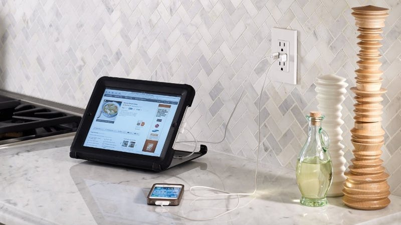 TOPGREENER 15-Amp USB Charger Receptacle, $16
