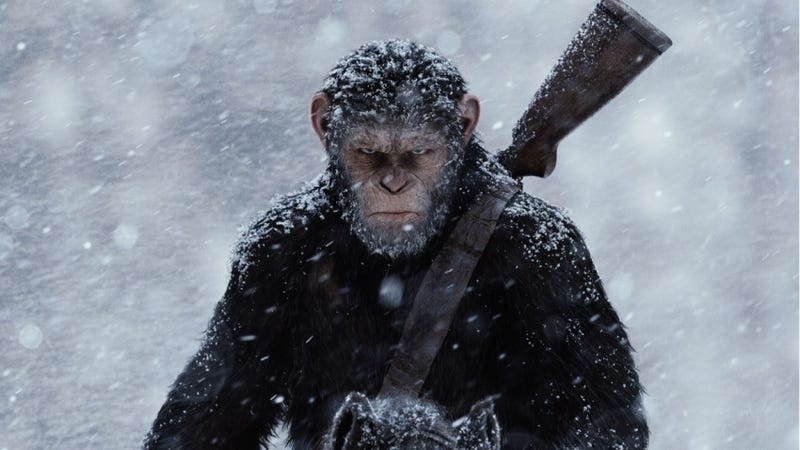 Illustration for article titled Andy Serkis Thinks Planet of the Apes is 'Boyhood in the Jungle,' and He's Right