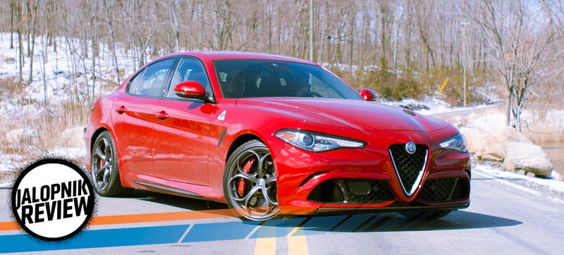 2017 Alfa Romeo Giulia Quadrifoglio The Jalopnik Review