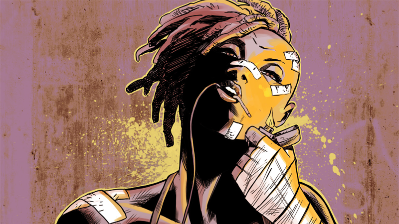 Meet Sera, the wild anti-hero of Young Terrorists.