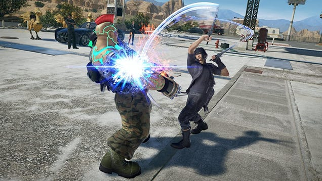 Tekken 7 is Just $12 on the PS4, and Also Noctis is There For Some Reason