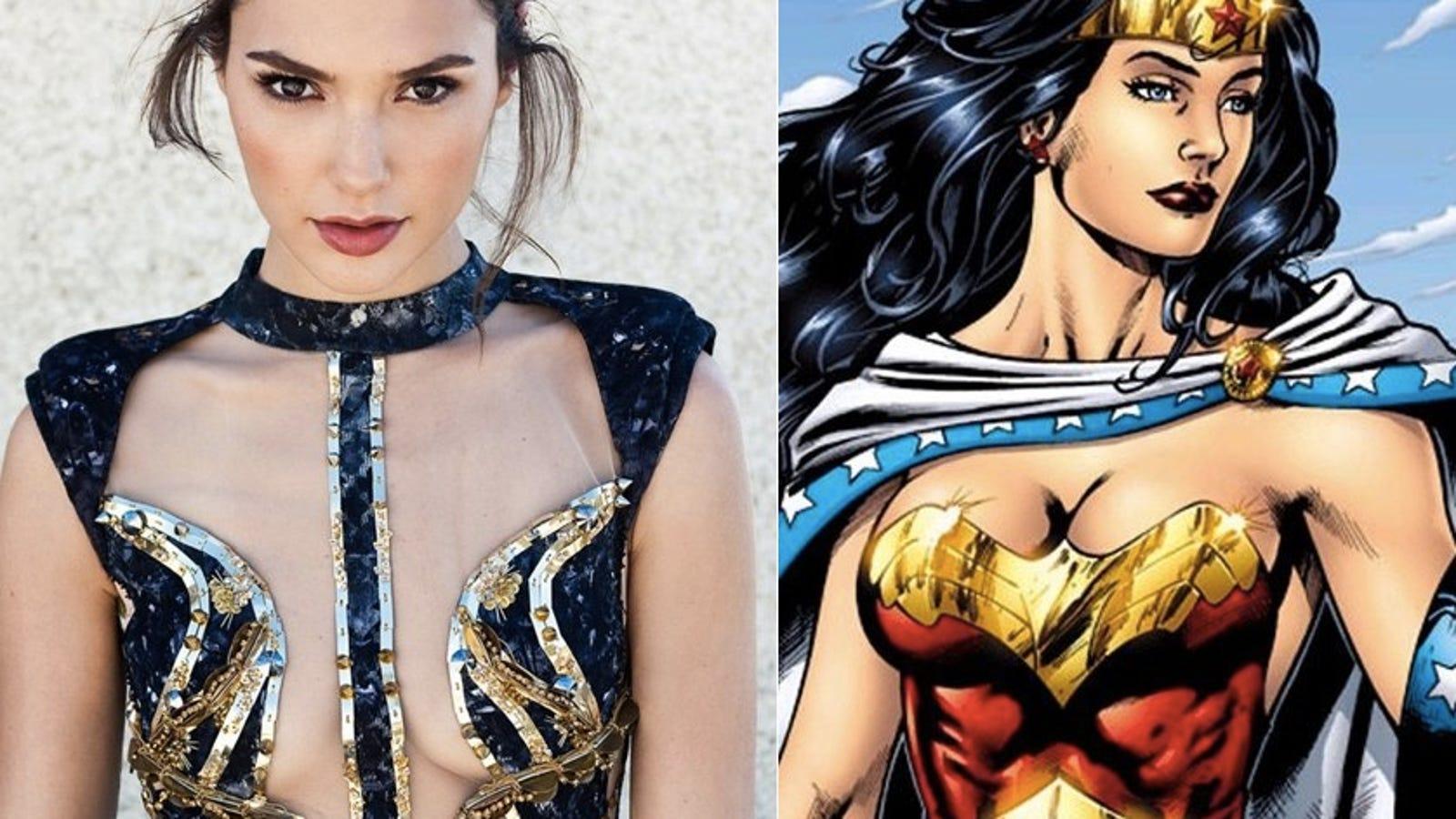 Gal Gadot Cast Comme Une Femme Merveilleuse Dans Batman Vs Superman-7866