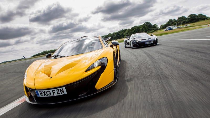 Vinculan a Apple con una posible compra de McLaren
