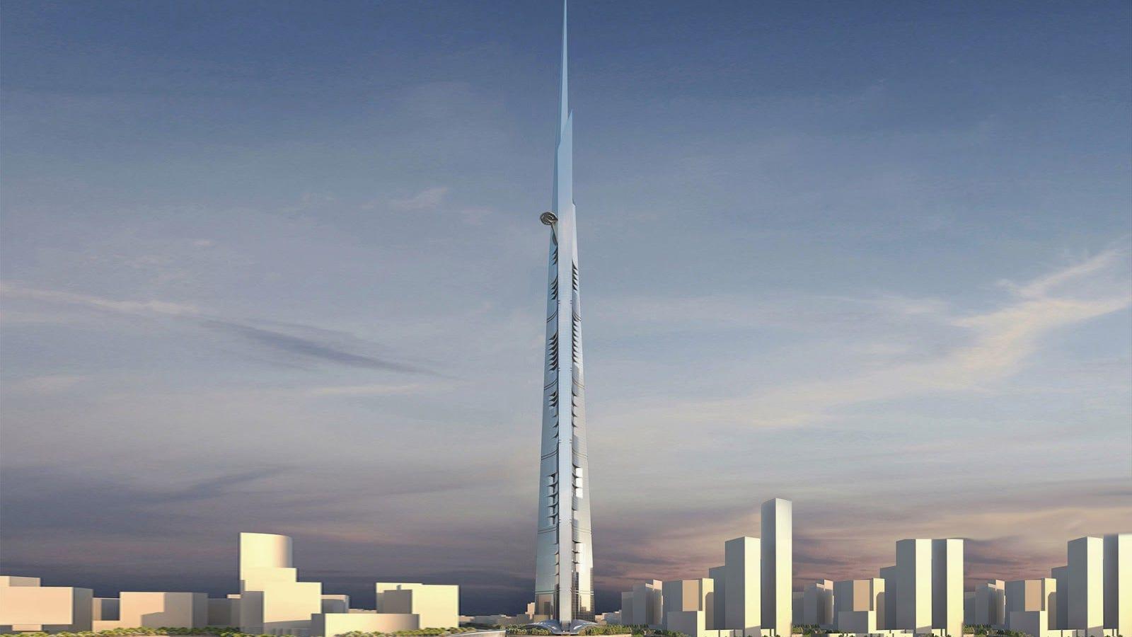 Jeddah Tower, el primer edificio con 1 kilómetro de altura, estará listo en 2020
