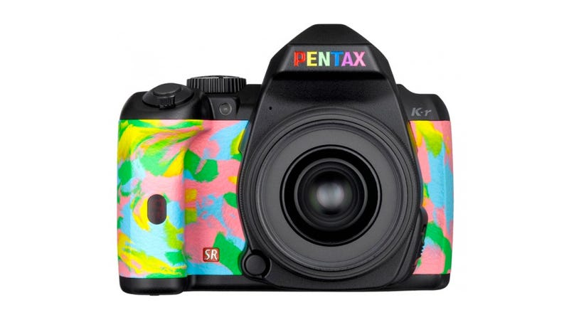 Illustration for article titled Pentax Continues War Against the Human Eyeball with Custom Rainbow Supernova DSLR