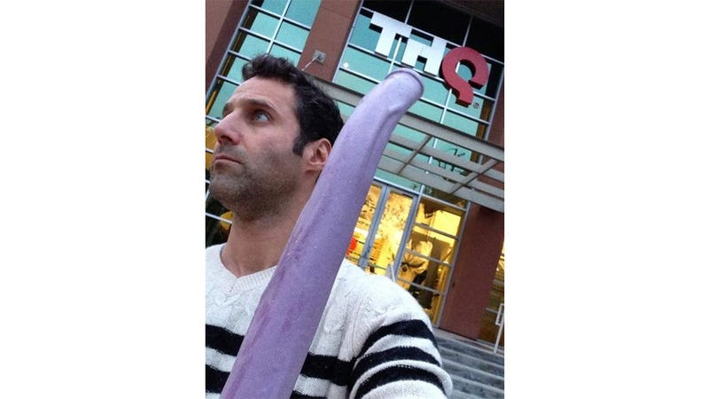Illustration for article titled Don't Worry, The Giant Purple Dildo From Saints Row Is Safe