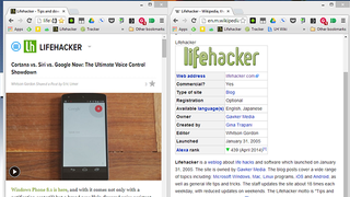 Illustration for article titled Use Wikipedia's Mobile Site for Easier Split-Screen Research