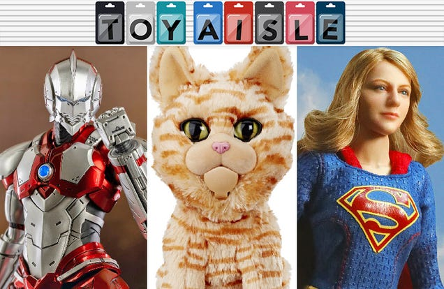 Nothing Can Stop Captain Marvel s Cat-Based Domination, and More Purrfect Toys This Week
