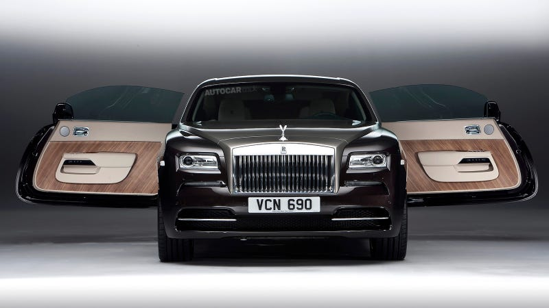 Illustration for article titled The Rolls-Royce Wraith Is The Most Powerful Way To Deliver Mustard