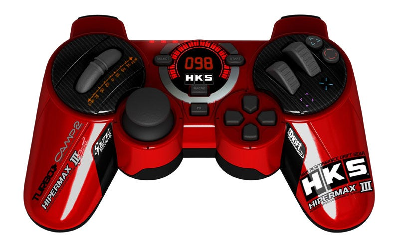 Illustration for article titled Review: HKS Racing Controller Is A Hot Rod For Your Hands