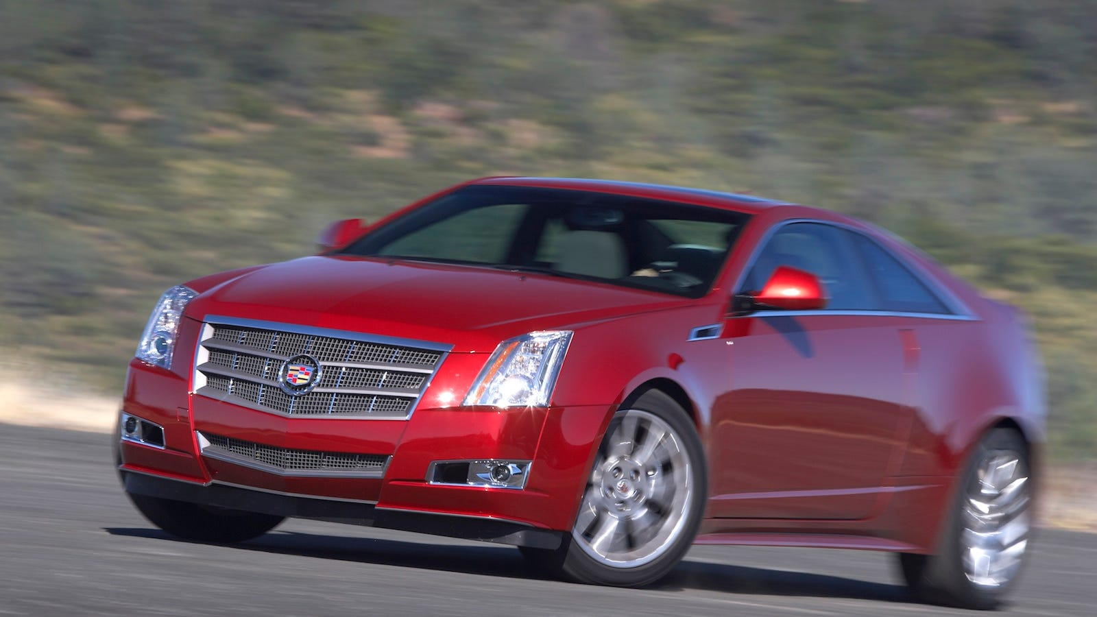 2011 cadillac cts coupe first drive. Black Bedroom Furniture Sets. Home Design Ideas