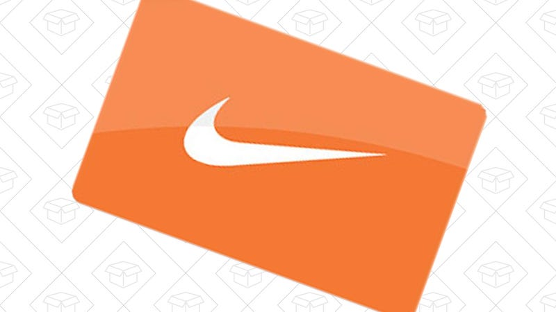 Free $10 Nike gift card with $50 Nike gift card purchase