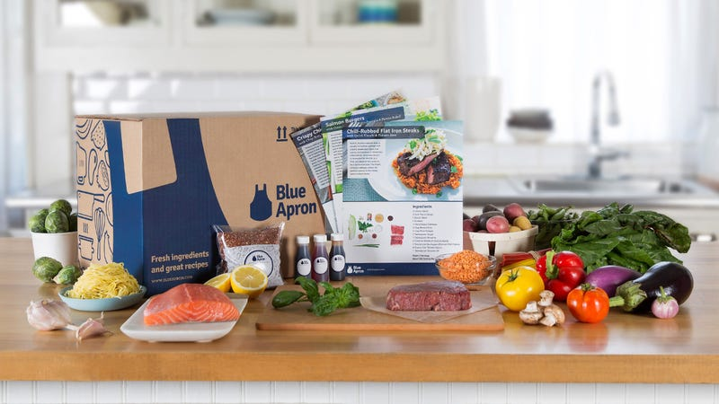 Illustration for article titled Game Changer: Blue Apron Will Now Pick Up Your Finished Meals And Show Them To Your Ex To Prove You Have Your Shit Together