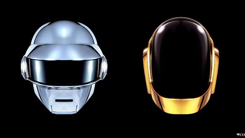 Illustration for article titled Daft Punk's Grammy performance to feature Stevie Wonder, some other guys