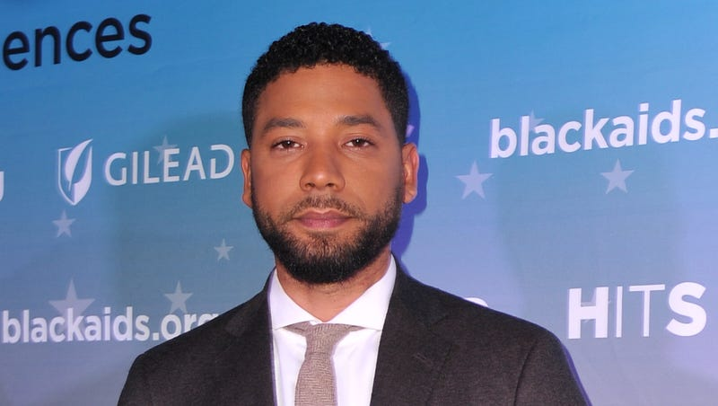 Jussie Smollett attends the Black AIDS Institute's 2018 Heroes in The Struggle Gala on December 01, 2018 in Los Angeles, California.