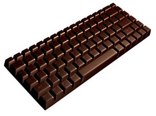 Illustration for article titled Life-Sized Chocolate Keyboard is, Sadly, Just a Concept