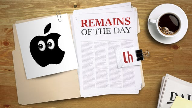 Remains of the Day: Apple Issues Important iOS Security Update