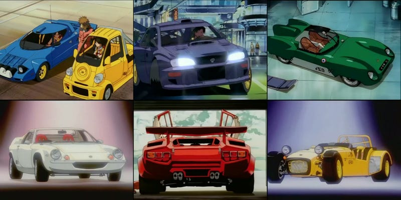 This Obscure Anime Predicted So Much About The Future Of Cars