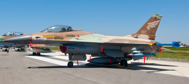 Illustration for article titled Israel's F-16 With The Most Air-To-Air Kills Ever Has Been Retired