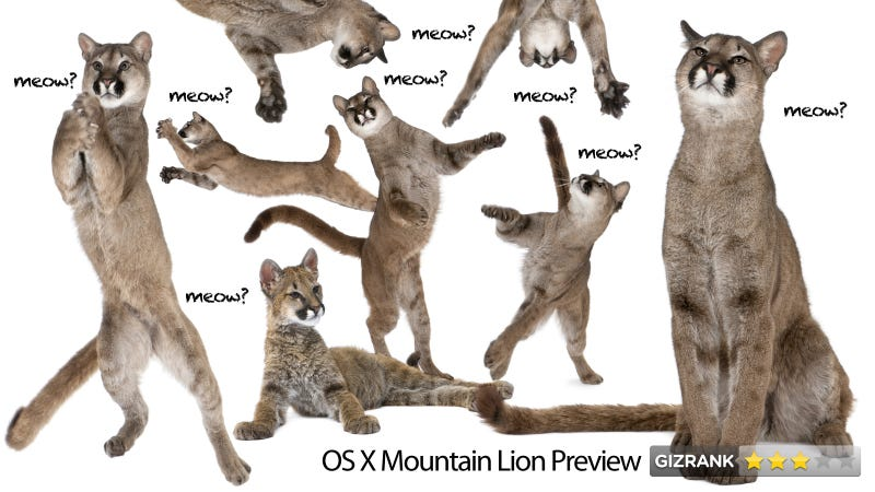Illustration for article titled Mountain Lion Review: What Happened to Apple's Innovation?
