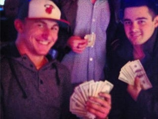 "Illustration for article titled ""Uncle Nate"" Auctioned Off A Rolex Johnny Manziel Gave Him"