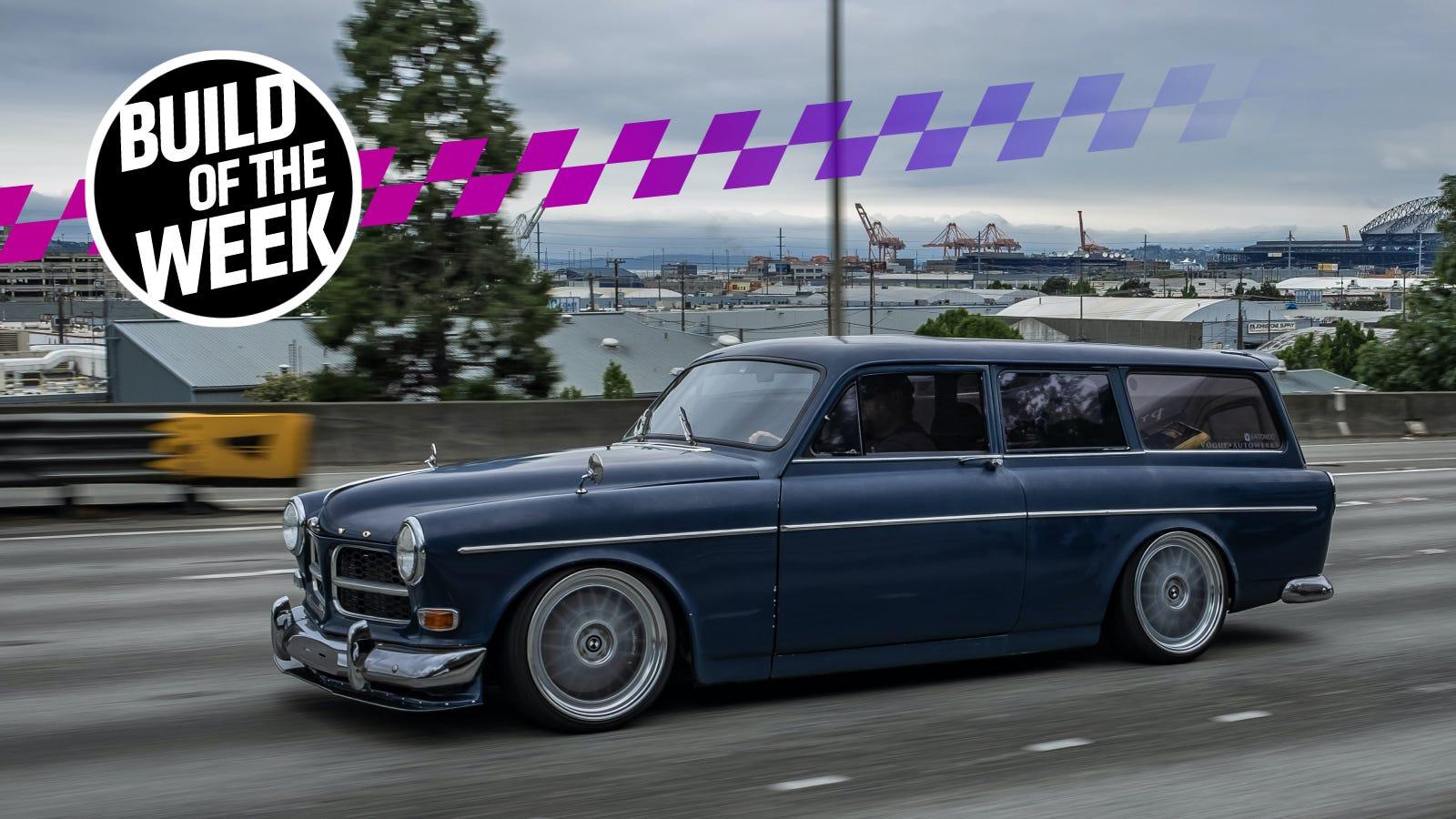 True Hero Swapped A Volvo Amazon Wagon Body Onto A BMW E30 ...