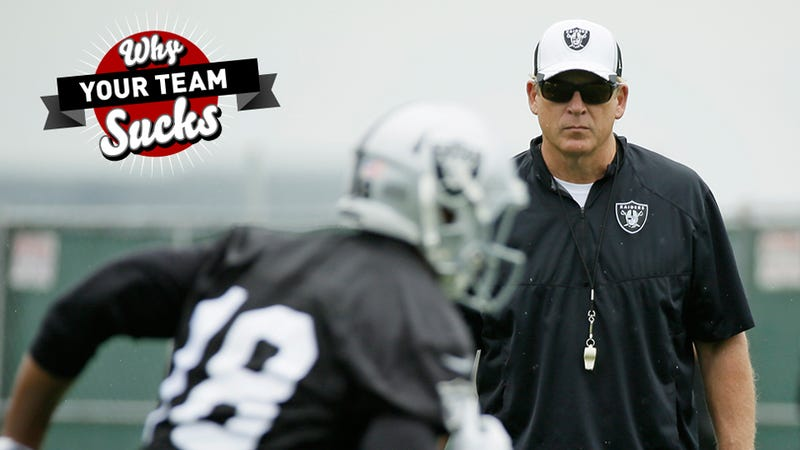 Illustration for article titled Why Your Team Sucks 2015: Oakland Raiders