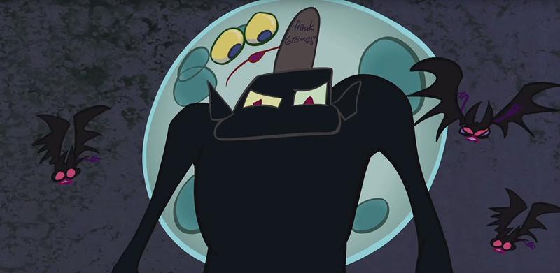 Illustration for article titled Los Simpson enfrentan un antiguo rival en la grotesca intro de Halloween de este año