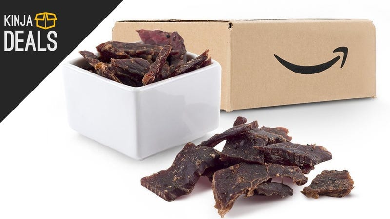 Illustration for article titled Buy a $10 Jerky Sample Box, Get a $10 Amazon Credit For Your Next Jerky Purchase