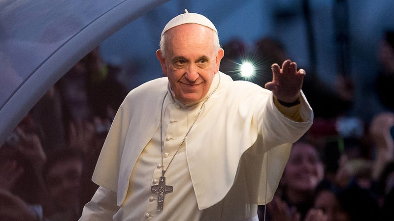 Illustration for article titled Cool Pope to Catholics: Oh My God, Please Stop Having So Many Kids