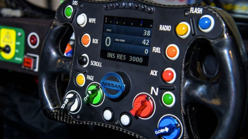 Illustration for article titled Can You ID What All The Buttons On This Steering Wheel Do?