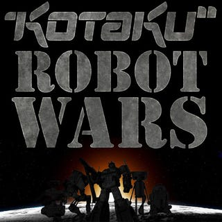 Illustration for article titled Kotaku Robot Wars Round 1: From The Ashes