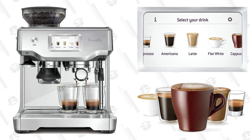 Breville BES880BSS Barista Touch Espresso Maker | $940 | Amazon