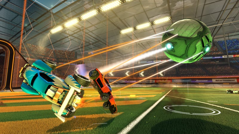 Illustration for article titled It's Tough To See Everything On Rocket League's New Map