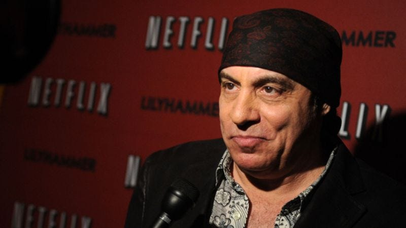 Illustration for article titled Steven Van Zandt