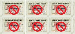 Illustration for article titled Colorado Won't Be Issuing Drone Hunting Permits, After All