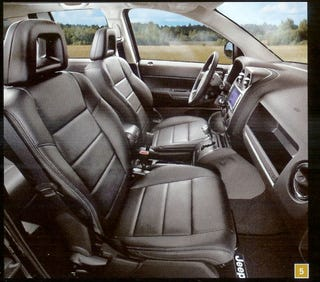 Illustration for article titled Jeep Compass, Patriot To Get Upgraded Interior For 2009