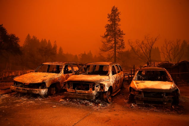 California s Wildfires Have Spawned a Truly Weird New Conspiracy Theory