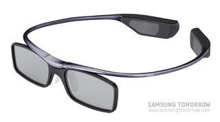 Illustration for article titled Lightest 3D Glasses in the World is Samsung's Newest Claim