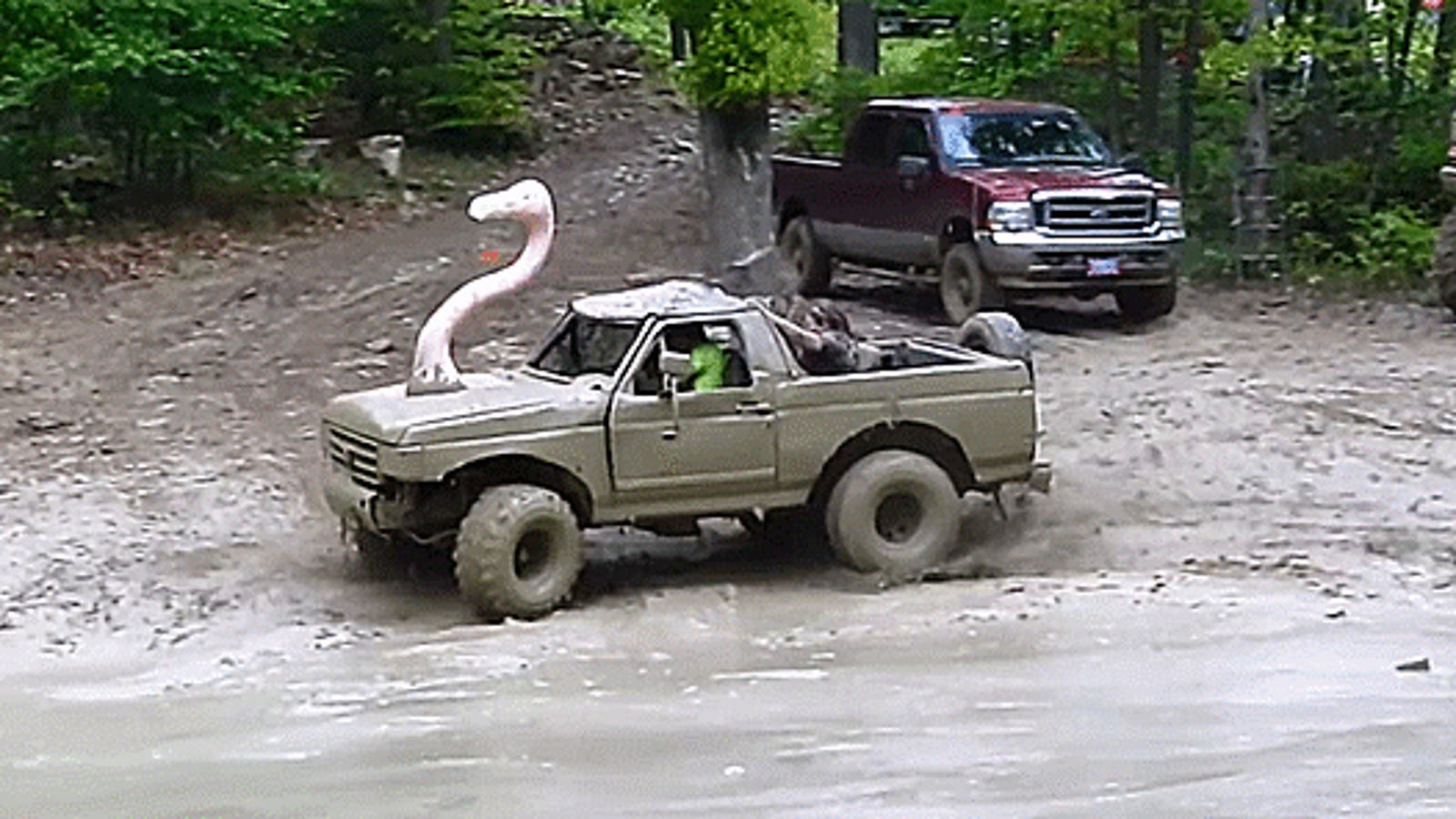 Bxajrizq Uerytkhw Ql on Ford Ranger Mudding