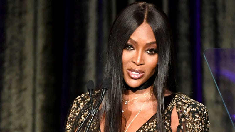 Naomi Campbell speaks onstage at the American Icon Awards on May 19, 2019 in Beverly Hills, California.