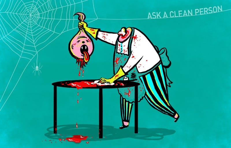 Illustration for article titled A Guide To Cleaning Every Possible Halloween Mess (Including Fake Blood)