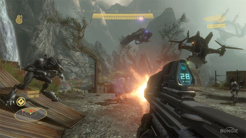 Group of Microsoft Halo Reach Game
