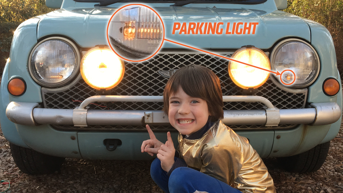 You're Using Your Parking Lights Wrong
