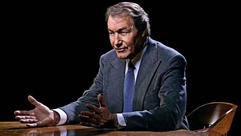 Illustration for article titled Charlie Rose says he's appearing in the final season of Breaking Bad