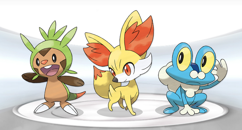 Illustration for article titled Which Pokemon Did You Get, X Or Y?