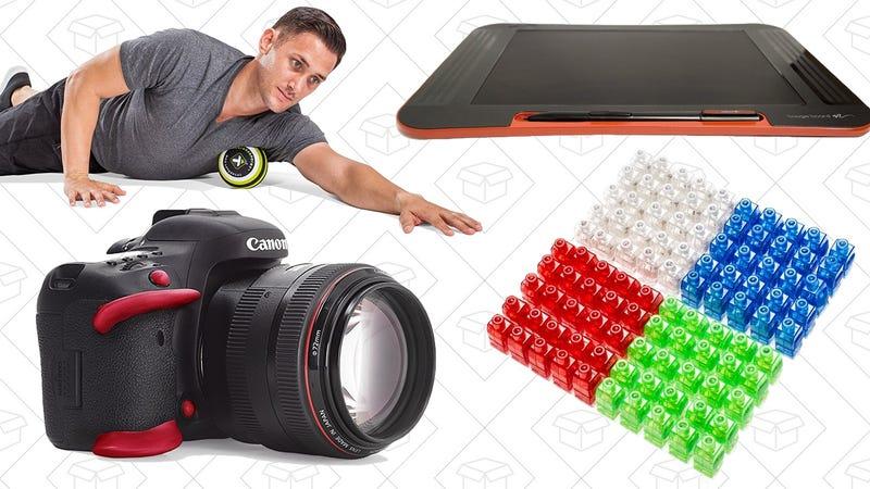 Illustration for article titled Saturday's Best Deals: Finger Lights, Sugru, Massage Balls, and More
