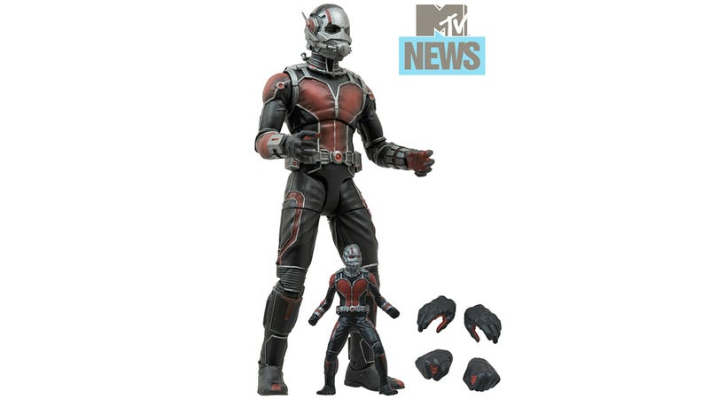 Illustration for article titled Here's What Ant-Man Looks Like In Action Figure Form