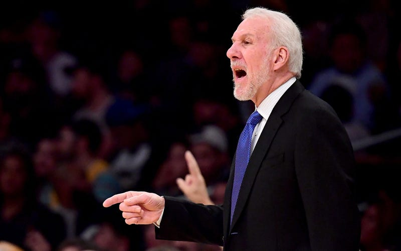 Illustration for article titled Gregg Popovich Won't Coach Spurs In Game 3 Following Death Of His Wife